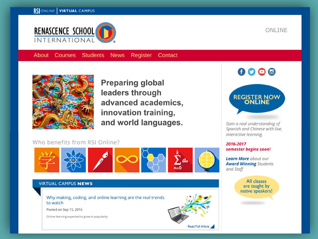 Website: Renascence School International