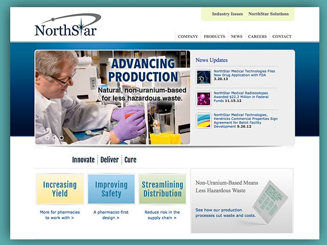 Website: NorthStar Medical Radioisotopes
