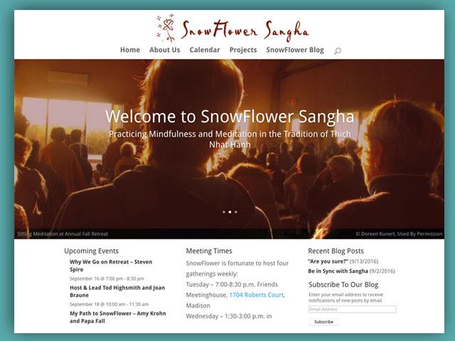 SnowFlower Sangha