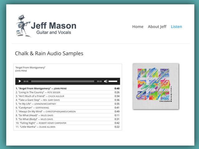 Jeff Guitar Mason