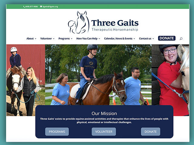 Three Gaits Therapeutic Horsemanship
